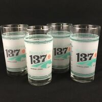 Set of 4 Original Kentucky Derby 137 Glasses 5-7-2011 Mint Julip Horse Racing