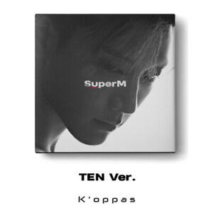 SUPER M 1st Mini Album TEN Ver. CD+Booklet+Mini Booklet+Random Card+Poster Kpop