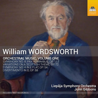 JOHNS GIBBONS & LIEPAJA...-WORDSWORTH: ORCHESTRAL MUSIC VOLUME ONE-JAPAN CD F04