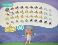 Animal Crossing New Horizons 🧱1200 Stück BAUMATERIALIEN Holz,Erz,Lehm,Stein🧱