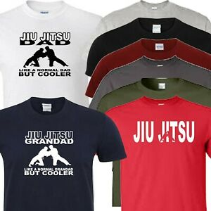 jiu jitsu t shirt dad grandad or logo