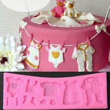 Silicone Hanging Baby Clothes Mold for Cake Decorating By Icing Petals