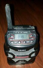 Craftsman C3 19.2v Cordless BLUETOOTH RADIO Aux Phone USB Charger AM FM Clock !!