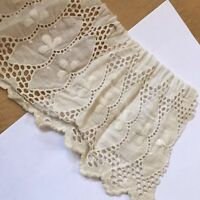 Antique Lace Edwardian Salvage Linen Cotton Lawn Sewing Doll A34