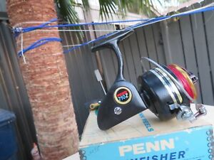 PENN #710Z SPINFISHER Spinning Reel w/ORIGINAL Box-Instructions-Lube