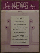 1935 Life & Casualty Insurance Sales Journal