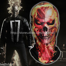 Ghost Rider 3D skull face mask Motorcycle mask Halloween mask Cosplay ghost face