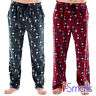 Mens Classic Stag Polar Fleece Pyjama Trouser Sleepwear