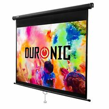 Duronic MPS80 /43 Ecran de projection manuel 80 pouces 4:3 / 163 x 122 cm