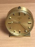 Vintage Swiza 8 Clock with Alarm Stunning Look Very Retro Sleek Classic