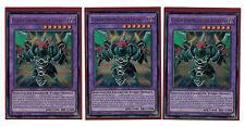 3 x gladiatorenungeheuer GYZARUS dusa-de071, ultra rare, MINT, tedesco, Playset