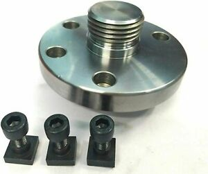100 mm Back Plate Adaptor for Rotary Table +T Nuts