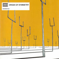 Muse CD Origin Of Symmetry - Europe (M/M)