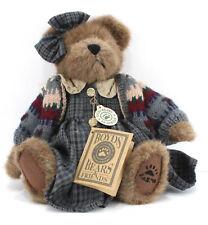 Boyds Bears & Friends Retired 1998 FOB ZELMA G. BERRIWEATHER Plush