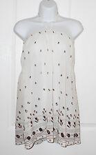 Mini Vestido Urban Renewal @ Urban Outfitters Top Vintage Boho Floral Talla 8 10