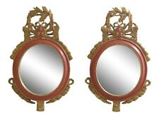 31338Ec: Pair Carvers Guild French Style Decorator Mirrors
