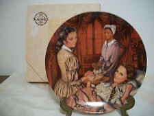 """EDWIN KNOWLES GONE WITH THE WIND """"MELANIE GIVES BIRTH"""" COLLECTOR PLATE"""