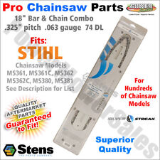 """18"""" Bar & Chain for Stihl Chainsaws MS361, MS361C, MS362, MS362C, MS380, MS381"""