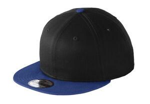New Era 9Fifty 950 Flat Bill Snapback Hat / Cap NE400 Blank - Choose a Color