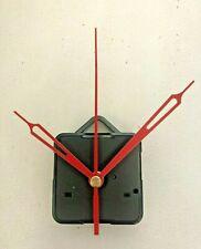 Clock Movement - Quartz Red Sweeping Hands - AA Battery Powered - Mechanism UK