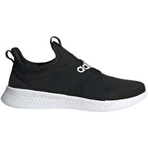 Womens Adidas Puremotion Adapt Black Athletic Fitness SlipOn Shoe FX7326 7.5-8.5
