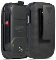 Black Belt Clip Holster Case Stand for Verizon Kyocera DuraXV Extreme E4810