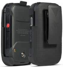 Black Belt Clip Holster Case Stand for Verizon Kyocera DuraXV Extreme E4810