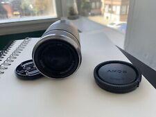 Sony E F4.5-6.3 55-210mm Lens for Sony E-Mount cameras - Silver