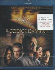 Il Codice Da Vinci (Blu Ray) 10Th Anniversary (Tom Hanks) NUOVO