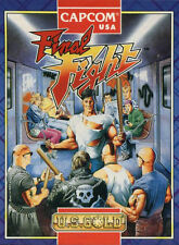 Framed CAPCOM Game Print – Final Fight (SEGA Picture Art Gaming Arcade Classic)