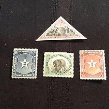 1892 Liberia Postage Stamps Unused