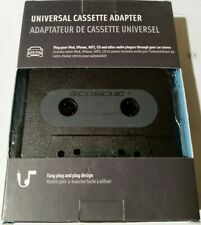 Universal Cassette Adapter - Play iPod, iPhone, Mp3, Cd & Other (New Other)