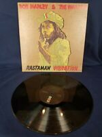 Bob Marley And The Wailers – Rastaman Vibration – Roots Reggae Vinyl LP-1976