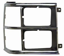 1984-86 Dodge Caravan Voyager RH Headlight Bezel Chrome/Black DG07006HCR 4270342