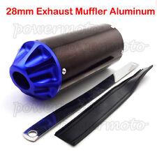 28mm Exhaust Muffler For CRF50 XR50 Chinese Pit Dirt Trail Bike 50 90 110 125 cc