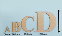 Wooden Letters Decoration Craft Shape Toy Box Name 50-200mm Times Roma Letter #1