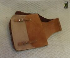 QUALITY - Leather Western Trail Riding Saddle Bags - Suede Leather - WONDERFUL!