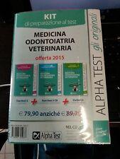 Kit di preparazione al test medicina odontoiatria veterinaria