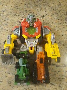 """Hasbro Mega Power Bot Construction Devastator 12"""" Transformer 2008!! Rare!"""