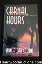 Carnal Hours by Max Allan Collins Unread Copy