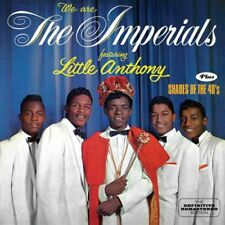 LITTLE ANTHONY & THE IMPERIALS-WE ARE THE IMPERIALS + SHADES OF...-JAPAN CD D81