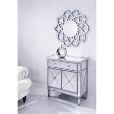 Mirrored Living Dining Room Bedroom Bathroom Office Cabinet Dresser Contemporary