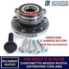 Cuscinetto Ruota Anteriore per VW GOLF V 1K_, VI 5K_, PLUS V 5M_ 03-16 AMVW018