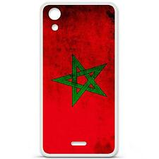 Case cover gel tpu case pattern flag morocco wiko rainbow up