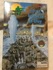 "The Ultimate Soldier 12"" 1/6 Scale Figure WWII 29th Infantry D-Day 21st Century"