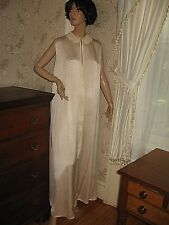 e41bb52c7d6 VINTAGE 1930 SILKY LIGHT PINK   IVORY LACE DRESSING GOWN ROBE-SAKS FIFTH  AVENUE