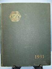 1931 Exponent Annual, Greenfield High School, Greenfield, Massachusetts Yearbook