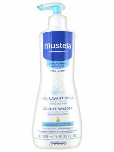 Mustela Gentle Cleansing Gel 500ml (Gel Lavant Doux 500ml) (AUTHENTIC)