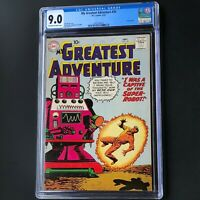 MY GREATEST ADVENTURE #35 (DC 1959) 💥 CGC 9.0 💥 ONLY 1 HIGHER GRADED!