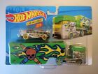Hot Wheels Pencil Pusher Transporter With School Bus Included DXB41-0913